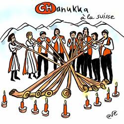 Chanukka à la suisse