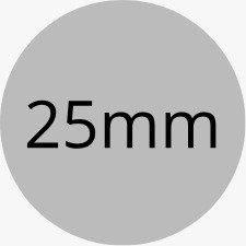 Customised Circular Stickers - 25mm Diameter