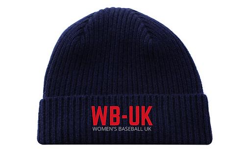 Women's Baseball UK Embroidered Beanie