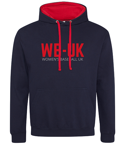 WB-UK Contrast Embroidered Hoodie