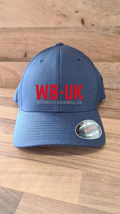 Women's Baseball UK Flexfit Caps