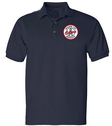 Embroidered Mens Oilers Polo Shirt