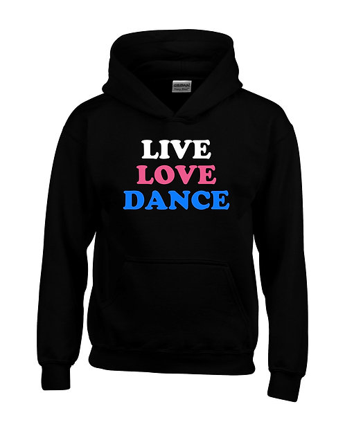 Live, Love, Dance Kids Hoodie