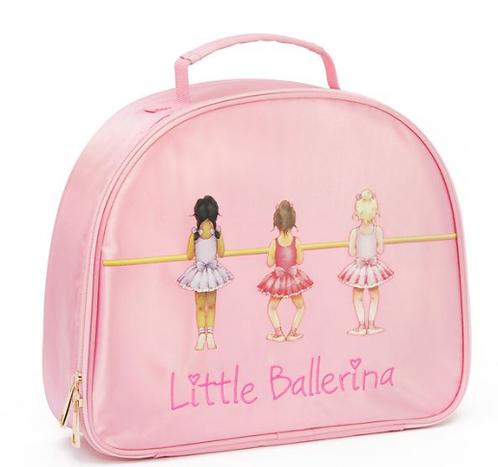 Little Ballerina Pink Satin Vanity Case