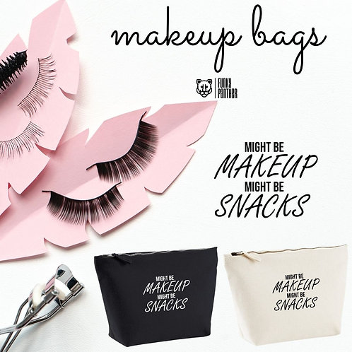 might be makeup might be snacks - make up bag