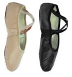 FP Leather Split Sole Ballet Shoes