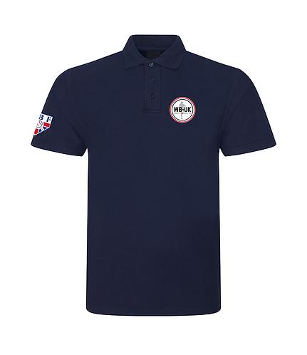 Unisex Embroidered Women's Baseball UK Polo Shirt