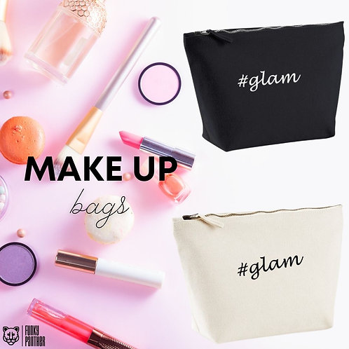 #glam - make up bag