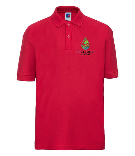 Red Russell Polo Shirt