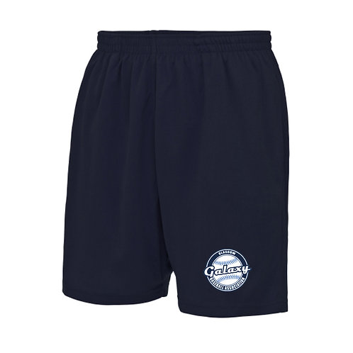 Mens Navy Galaxy Shorts