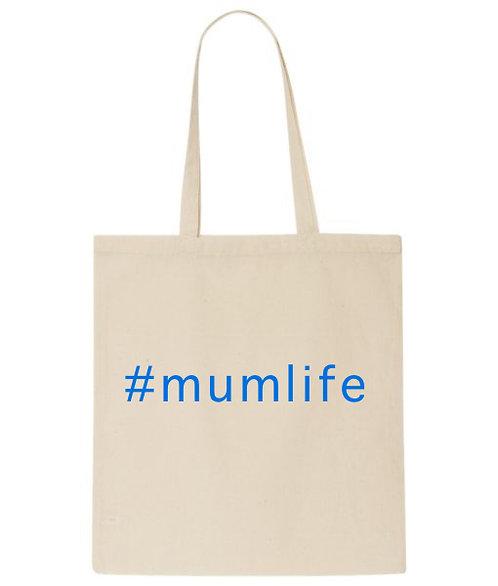 #mumlife Tote Bag