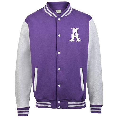 Ladies Oilers Baseball Jacket