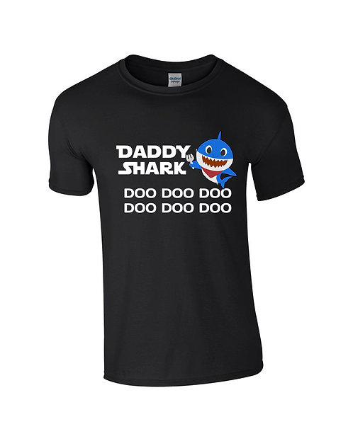Daddy Shark T-Shirt - Various Colour