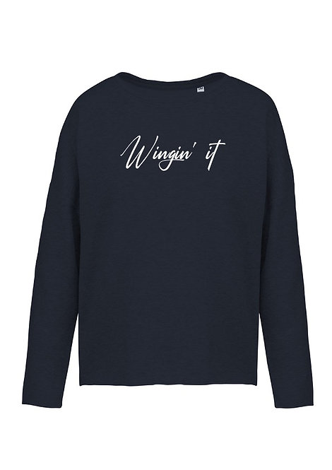 Wingin' It Oversized Sweatshirt