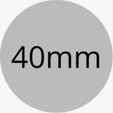 Customised Circular Stickers - 40mm Diameter