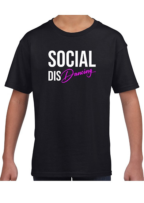 Kids Social Dis Dancing T-Shirt