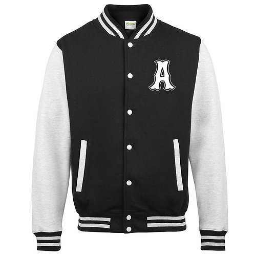 Mens 'A' Baseball Jacket