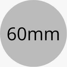 Customised Circular Stickers - 60mm Diameter