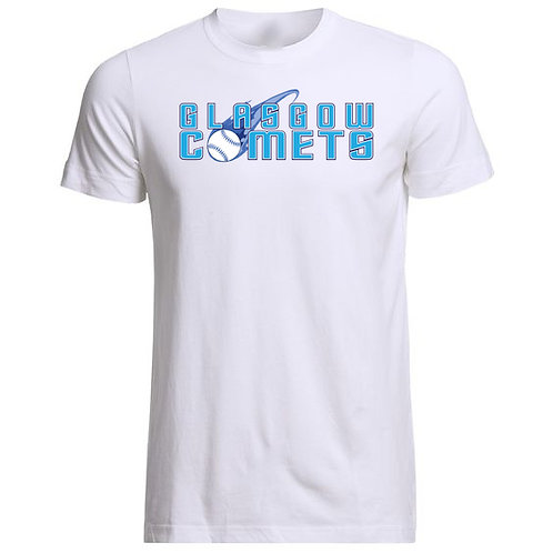 Mens Large Comets Cotton T-Shirt