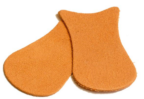 Capezio Suede Caps for Pointe Shoes