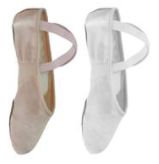 FP Satin Split Sole Ballet Shoes