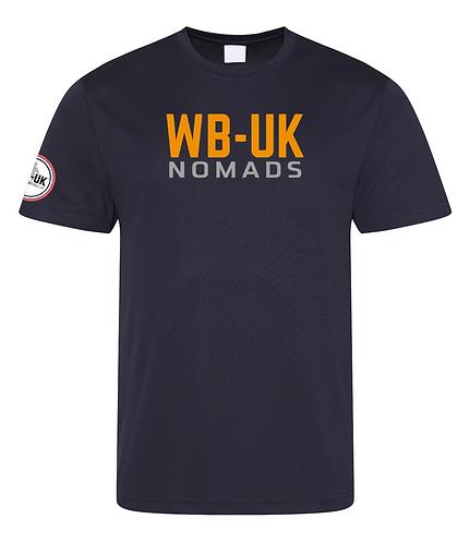 NOMADS Training Performance T-Shirts