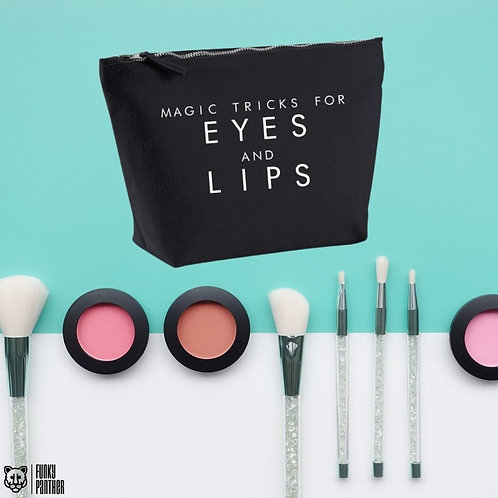 magic tricks for eyes and lips - make up bag