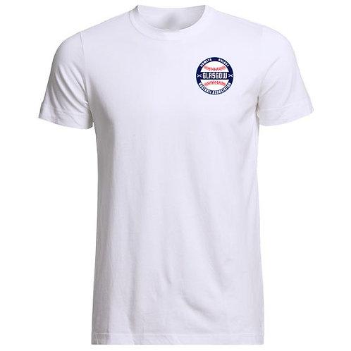 Mens Glasgow Baseball Association Cotton T-Shirt