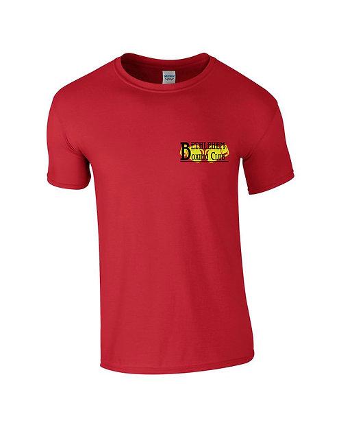 Mens Black & Yellow Logo - Front & Back
