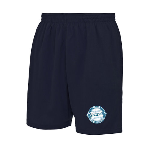 Mens Navy Comets Shorts