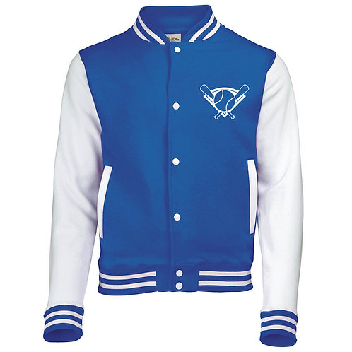 Mens Base & Ball Baseball Jacket