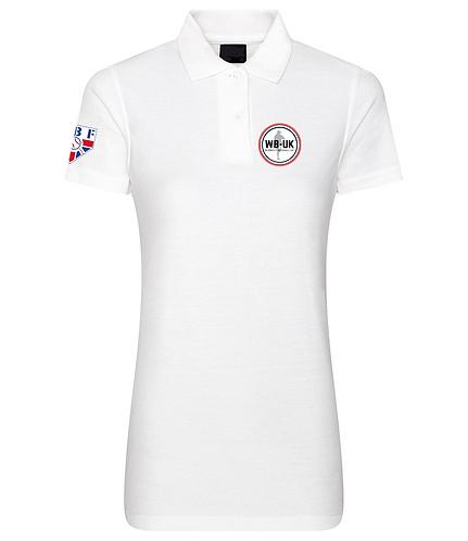 Ladies Embroidered Women's Baseball UK Polo Shirts
