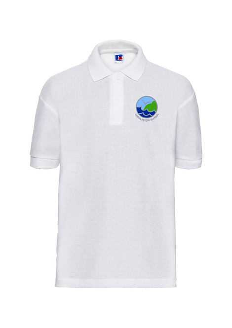 White Russell Polo Shirt