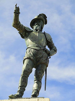 Ponce public statue