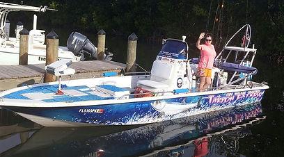 24' Tide Walker Charter Boat