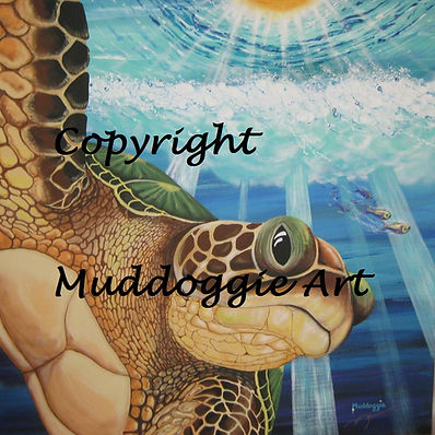 Return to the Sea painting print by Muddoggie