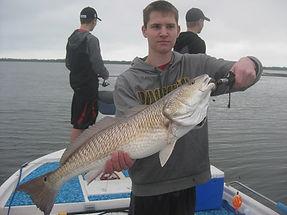 Redfish fishig