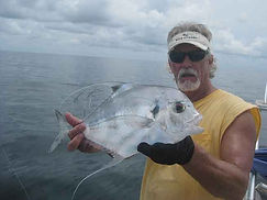 African Pompano catch
