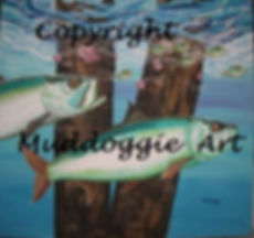 Dockside Ambush painting print by Muddoggie
