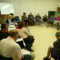 CEMA Theatre group play reading