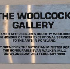 Woolcock Gallery opening 1990