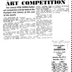 1975 CEMA - Caltex Art Comptetion