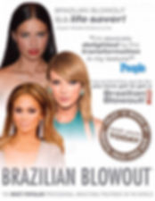 Brazilian Blowout in the news, celebrities who used Brazilian Blowout