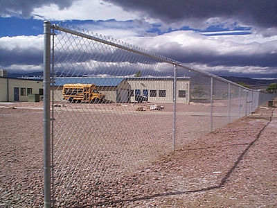 chain link low maintainance commercial