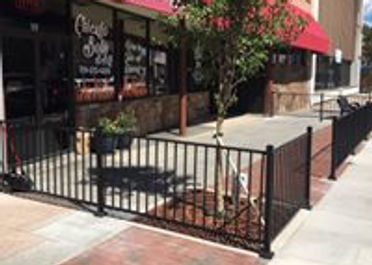 wrought iron low maintainance