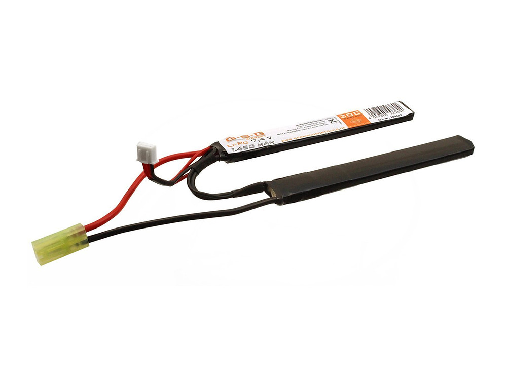 GSG Airsoft LiPo Akku 7,4V 1450mAh - Double Stick