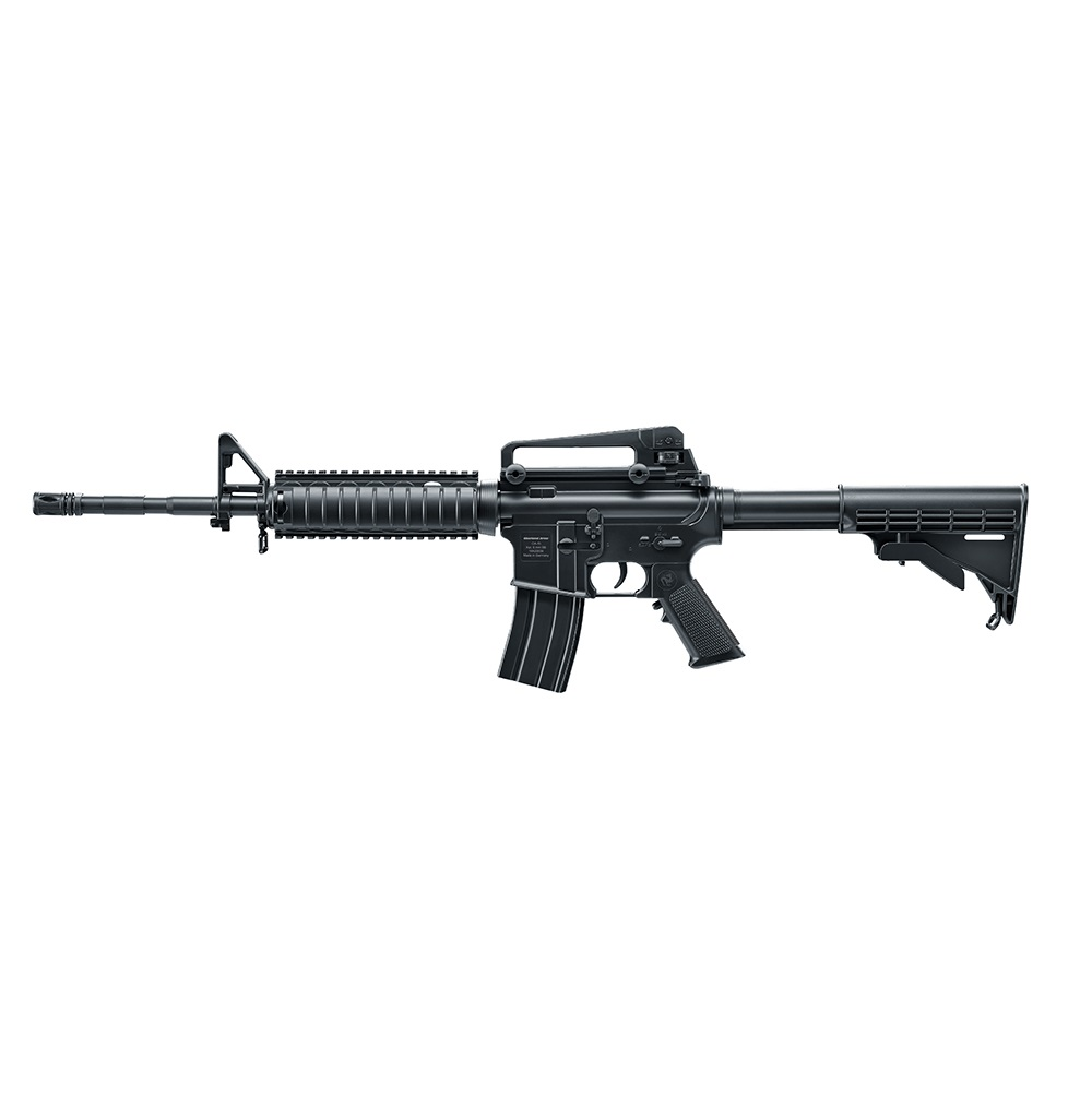 Oberland Arms Softair OA-15 M4 RIS SPRING 0.5 J Schwarz 6 mm