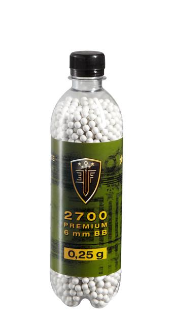 Elite Force Softair Munition Bio BBs - 0.25 g 6 mm 2.700 Stk. Flasche