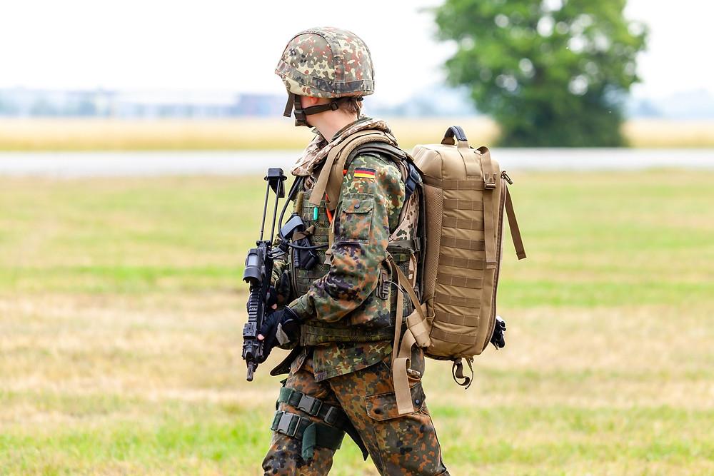 Flecktarn Bundeswehr