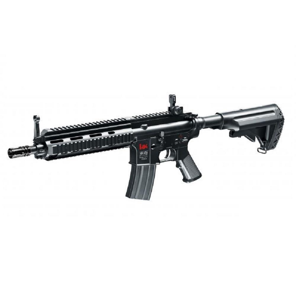 UMAREX  Heckler & Koch HK 416 CQB AEG Schwarz 0.5 Joule Schräg